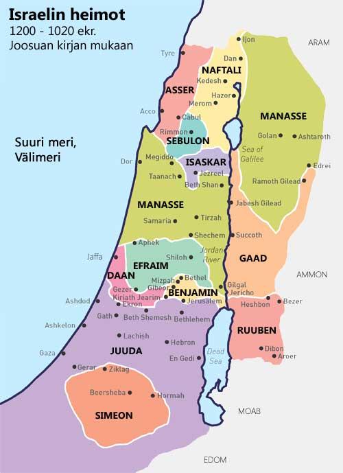 Sebulonin Siunaus On Israelin Kaasukentat Israel Profetiassa